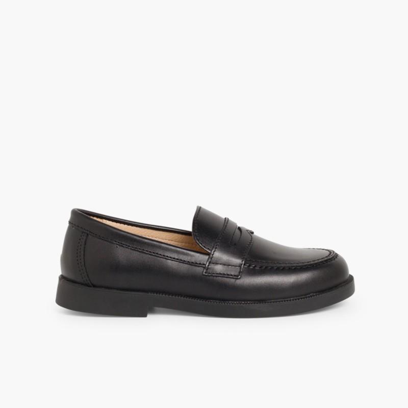Zapatos  Colegiales Escolares  Zapatos Mocasines Pisamonas f86a6f