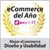 Mejor Ecommerce Diseño y Usabilidad SHOWAWARDS17 (2017)